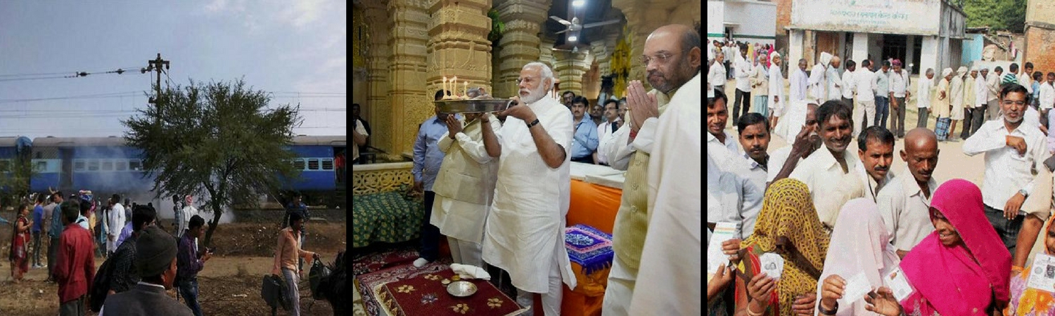 A Blast Here, a Temple Visit There: Elections and the Making of a Media Stunt